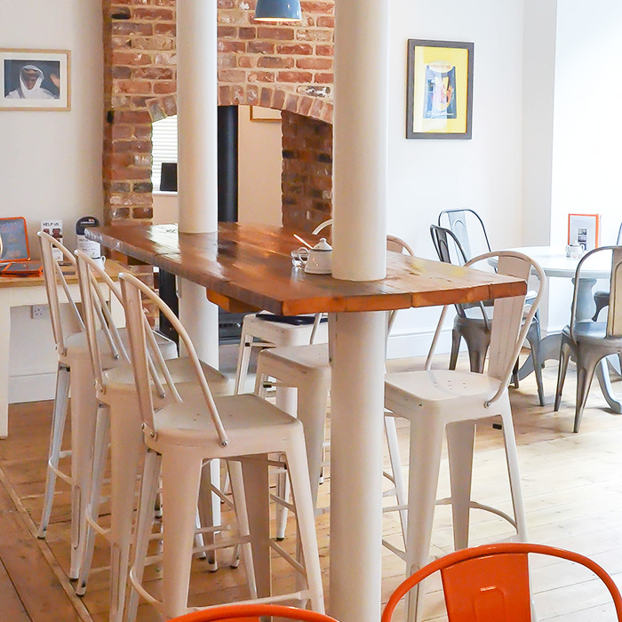 Cafe and Bar Bang in Wells Next The Sea North Norfolk